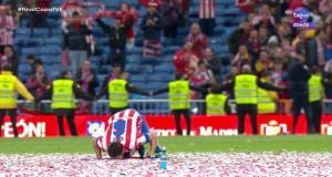 El inolvidable ritual de Koke durante la celebración del título de Copa del Rey