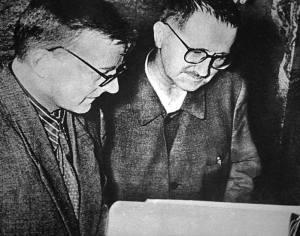 Dmitri Shostakovich y Bertolt Brecht