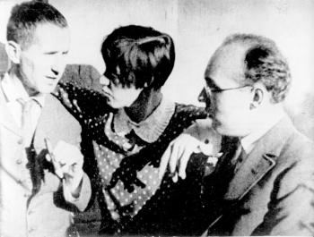 Bertolt Brecht, Lotte Lenya y Kurt Weill (1)