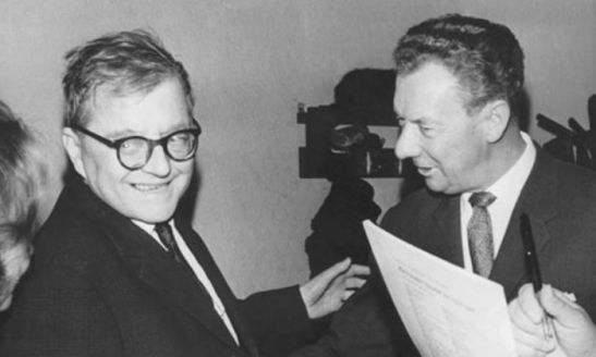 Dmitri-Shostakovich-left-and-Benjamin-Britten-in-1966